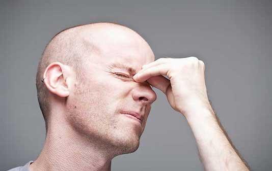 Sinusites frontales