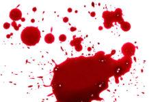 Taches de sang